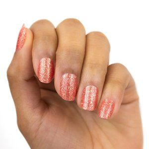 2/25 NEW Color Street Seattle Royale Coral Glitter